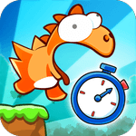 Dino Rush Race game icon